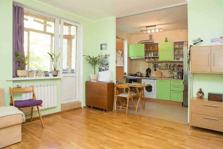 Cozy&nice apartment in a green area - Kiev - Appartement