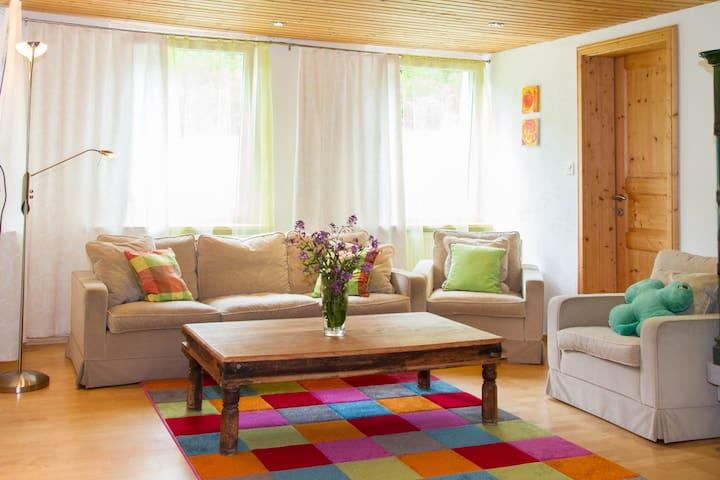 Gemütliche Wohnung im Grünen