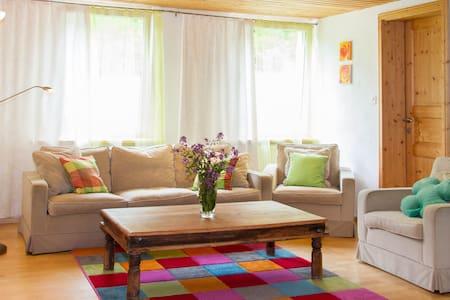 Gemütliche Wohnung im Grünen - Altstätten - Leilighet
