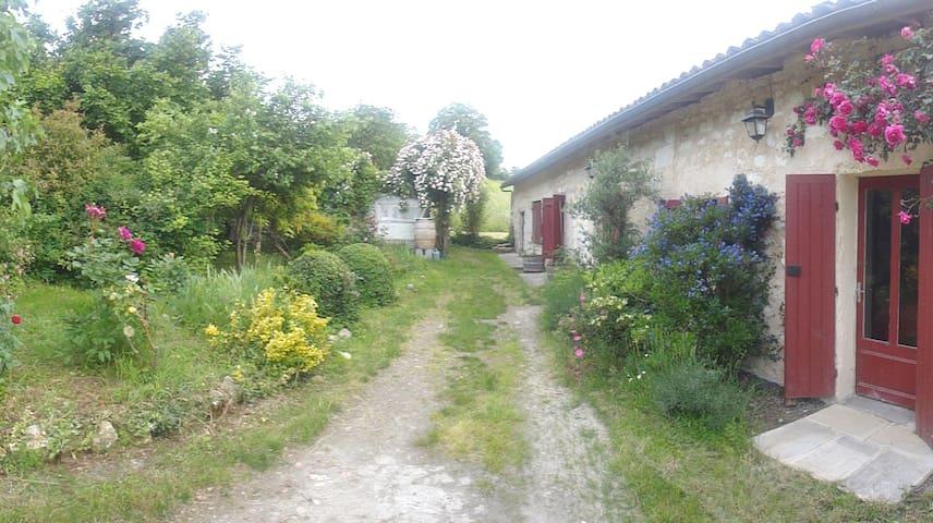 Charme et calme près de Bordeaux - Lugon-et-l'Île-du-Carnay - Casa