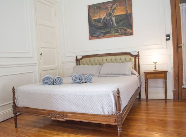 Lovely and large private and classic room