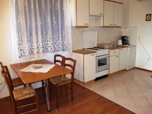 One bedroom Apartment, 100m from city center, in Dobrinj - island Krk, Terrace