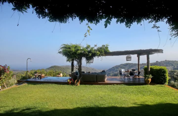 Big Luxurious Villa in High Lands of Lesbos
