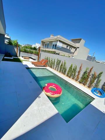 Casa Fantástica no Condomínio Capão Ilhas Resort