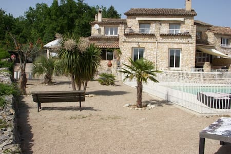 Villa Mas provençal piscine privee - Saint-Cézaire-sur-Siagne