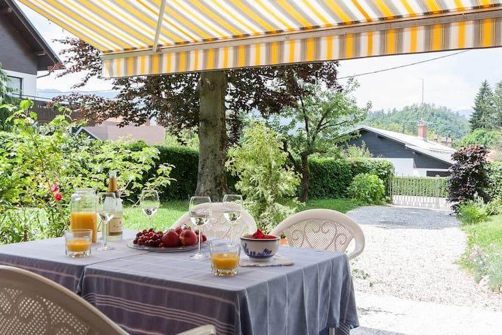 A fairytale villa in Bled center