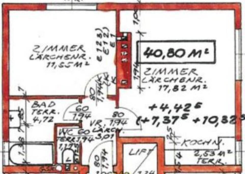 Grundriss/Floor Plan