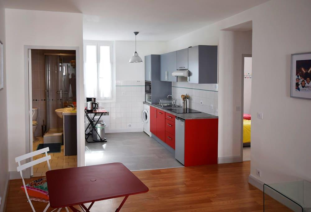 Une belle cuisine entièrement refaite à neuf