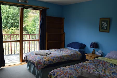 Twin bedroom/private and scenic - Glenorchy
