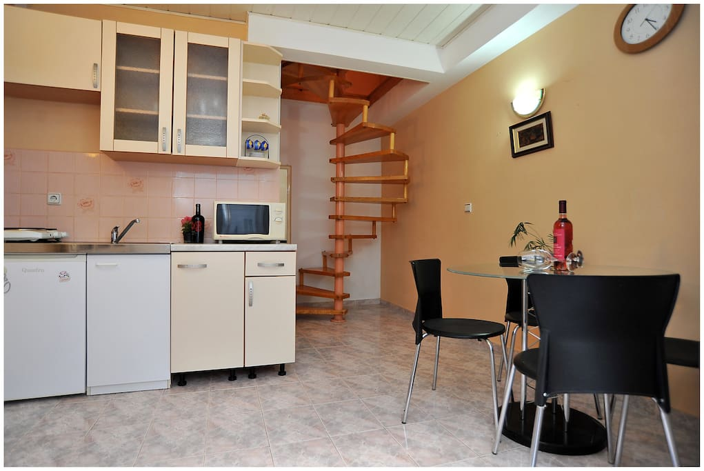 Kitchen and dinning room - ground floor.