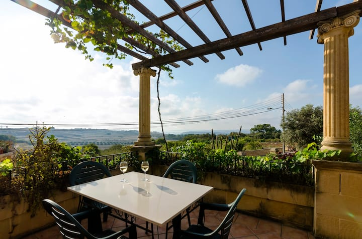 Borage - Double Room with Terrace & views