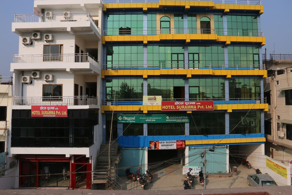 Hotel Suramma Pvt. Ltd. Building (very closed to Sacred garden of Lumbini)