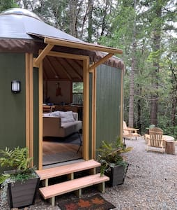 Secluded off grid Yurt Cabin
