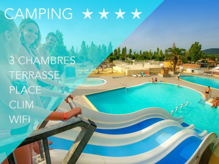 "Mobilhome  Luna ""Camping l'Europe"""