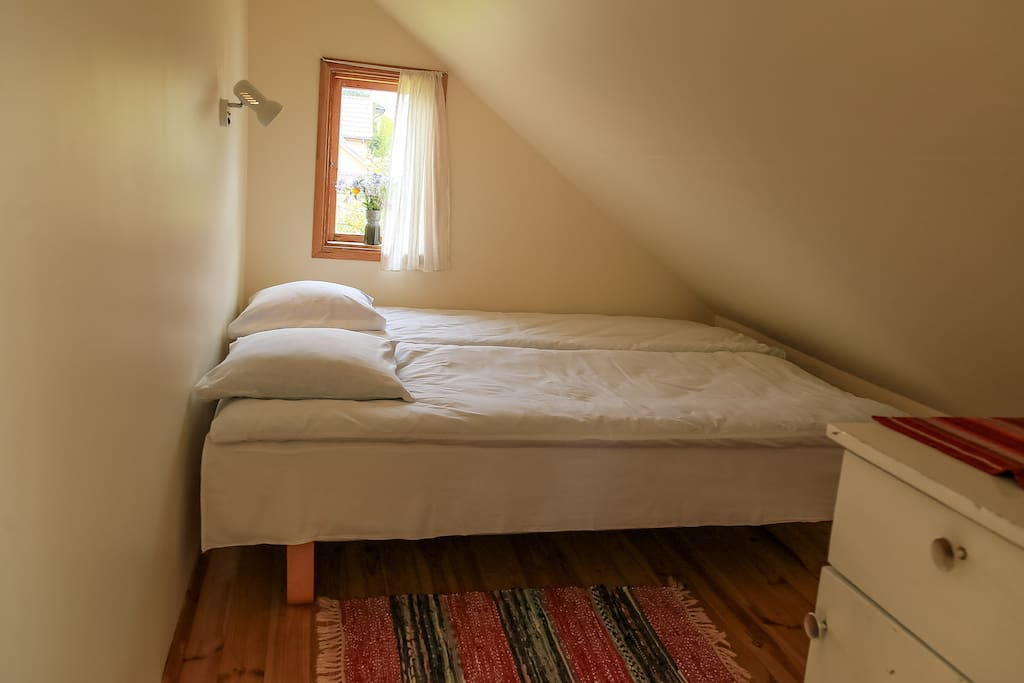 Room #1 - double bed