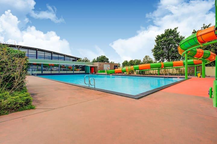 Alluring Chalet in Sevenum near Theme Park Toverland