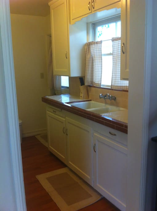 Kitchen with Double Sink