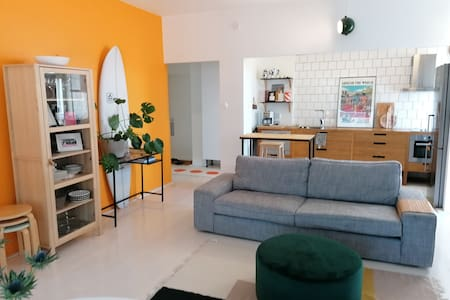 Two room light loft apartment in center (ydin)