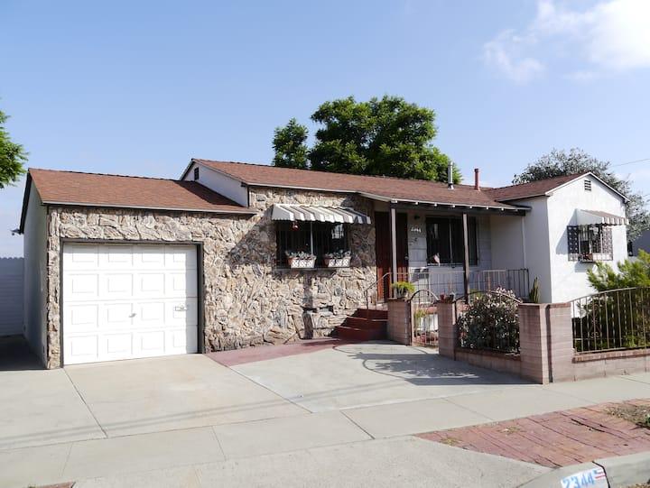 Marta's house, San Diego, Close Downtown, Garden