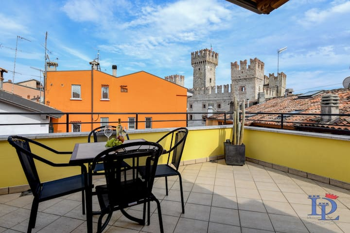 PENTHOUSE Never say Never with terrace overview Castle and old town  CIR 017179-CNI-00108