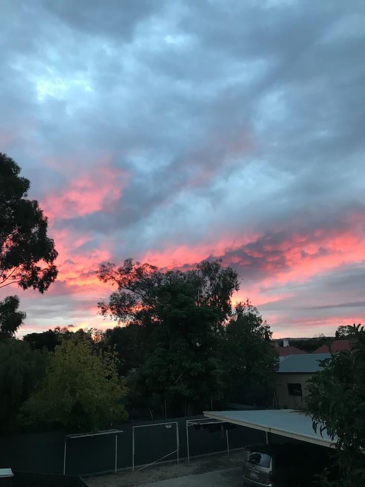 sunrise in Forestville