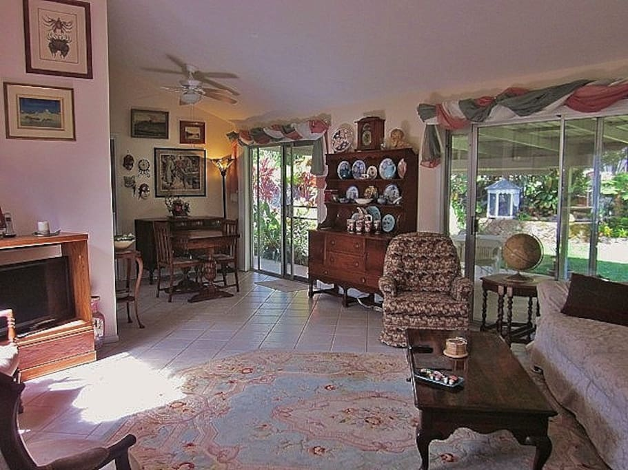Come share our home and all of treasures that we have collected over the years.