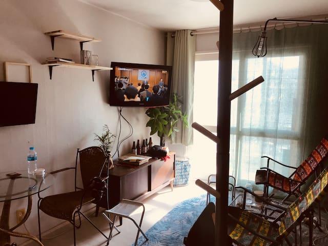 Illustrator's Small cozy apartment