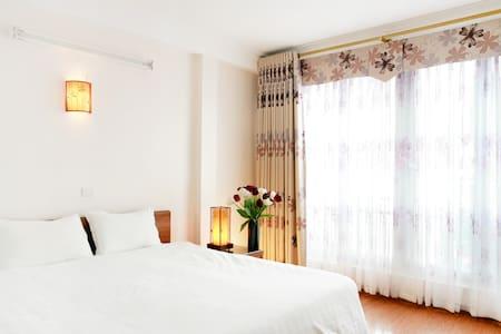 Double room with panoramic window - Hanoi