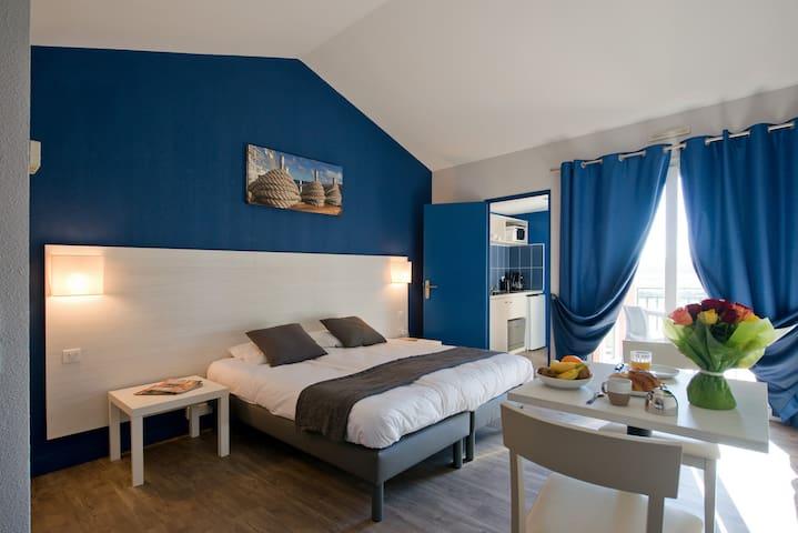 Appartement 1 chambre dans cadre naturel en Camargue