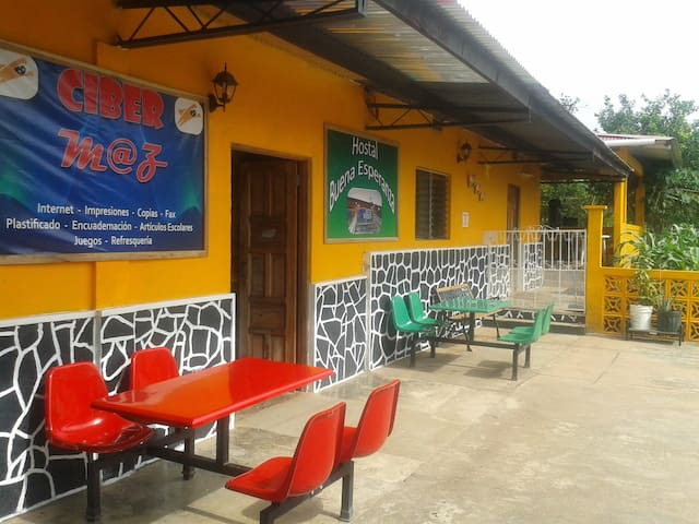 HOSTAL BUENA ESPERANZA - El Cope - Hus