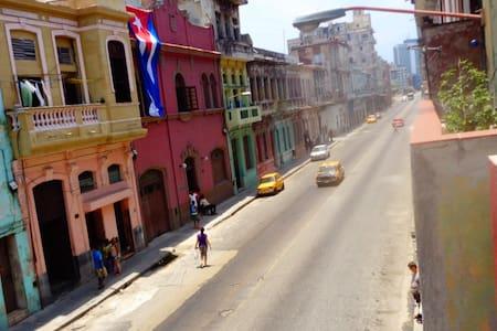 La Casa de Mima. Just one block to the Malecon. - La Habana
