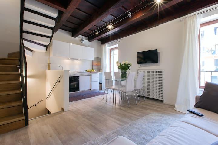 Elegante appartamento in centro