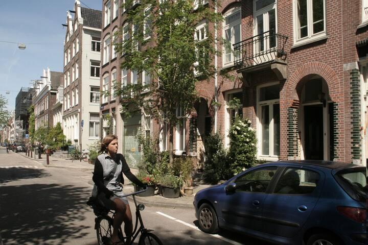 Cozy, quiet family apt in center - Amsterdam - Daire