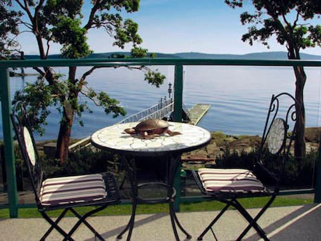 romantic ocean front, pool, hottub! - Ladysmith - Pis