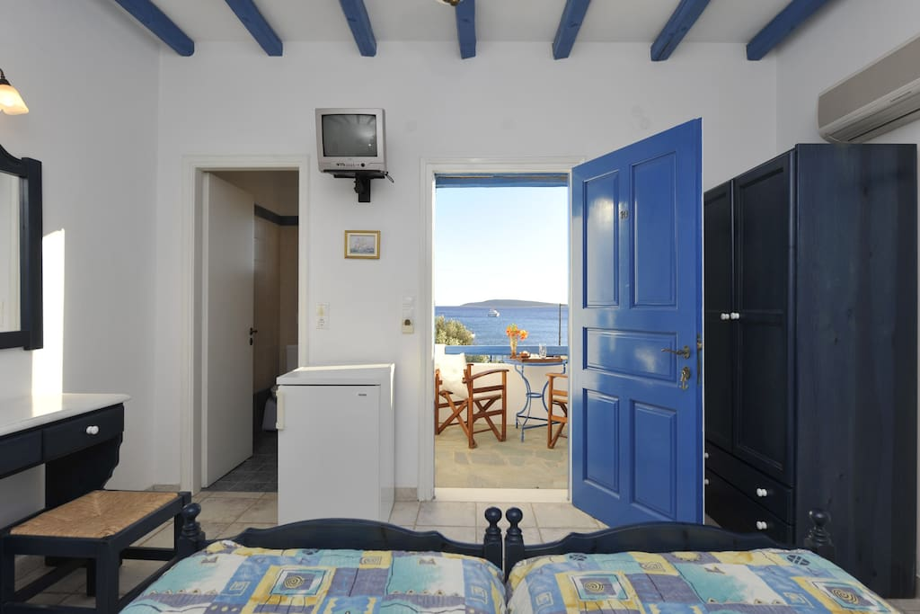 Sea view from the comfort of your bed