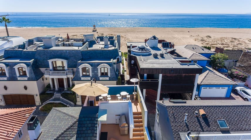 The Sand Castle | Newport Beach Estate on Sand - Newport Beach - Casa