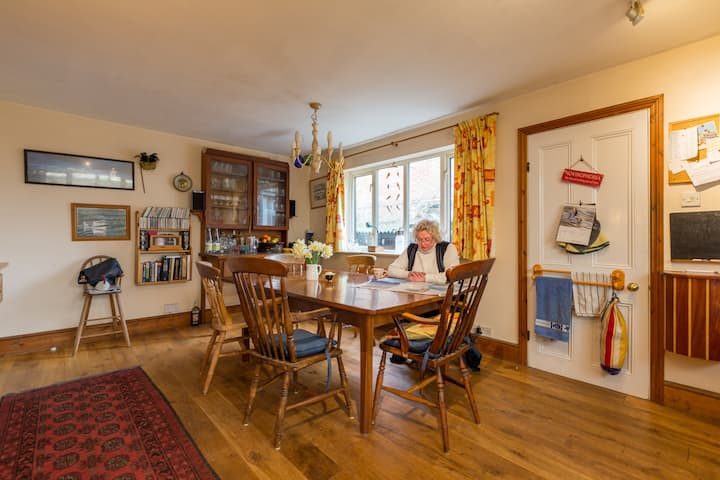 Family home in beautiful Bosham close to the sea.