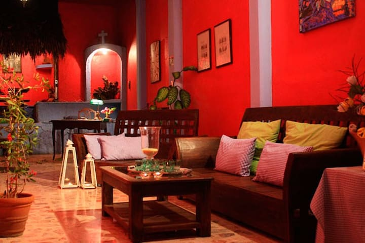 Casa Rosa Catemaco Suite Familiar - Catemaco - Dom