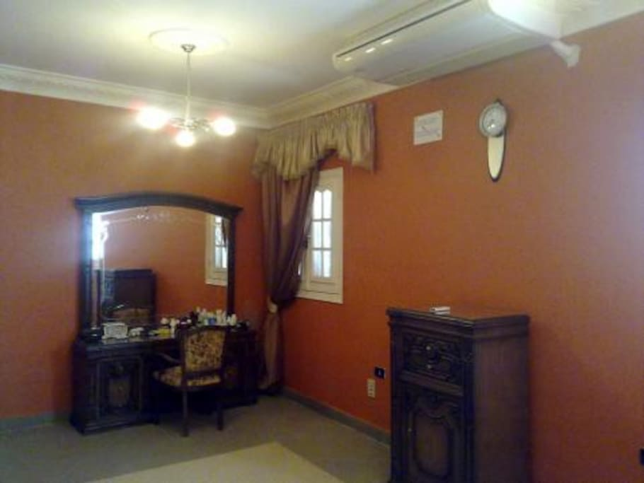 Another view of the main bedroom