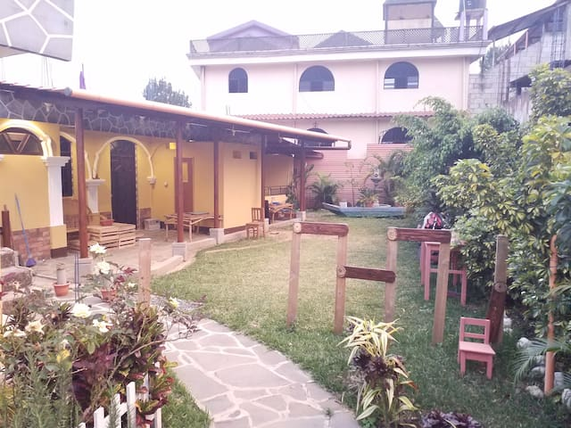 Casa Don Juan - habitación privada 3 - dos camas