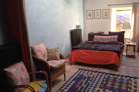 Chambre familiale Mas des Deux Mules en Cévennes - Saint-Roman-de-Codières - Bed & Breakfast