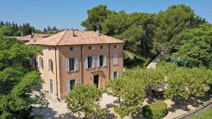 18th cent. provencal Bastide, 10' from center Aix