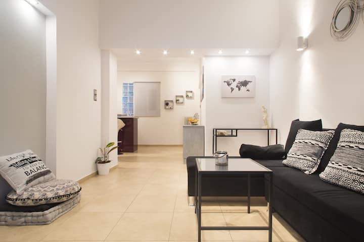 Unique cozy/Elegant Apartment!10' from Acropolis!