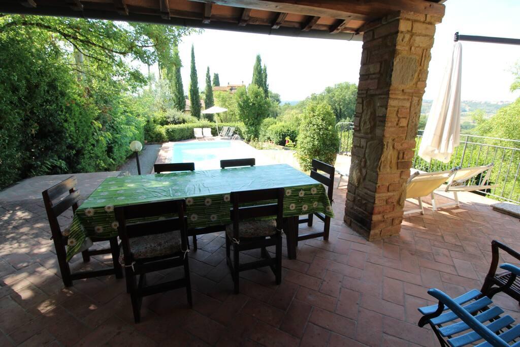Casa ginevra ville in affitto a cambiano toscana italia for Arredo casa montaione