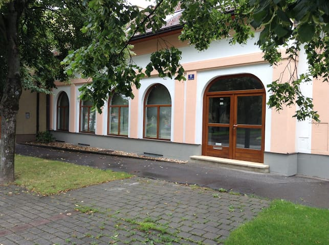 Das ehemalige Bankhaus - Wallern im Burgenland - 一軒家