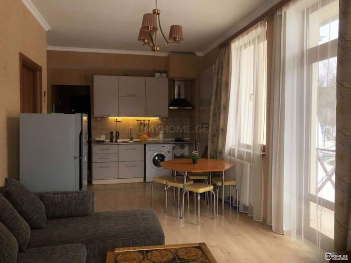 Bakuriani Apartment with a great view and location