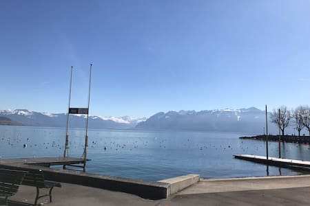 Belle Appartement ouchy au Bord lac 2 pas - Lausanne - Apartment