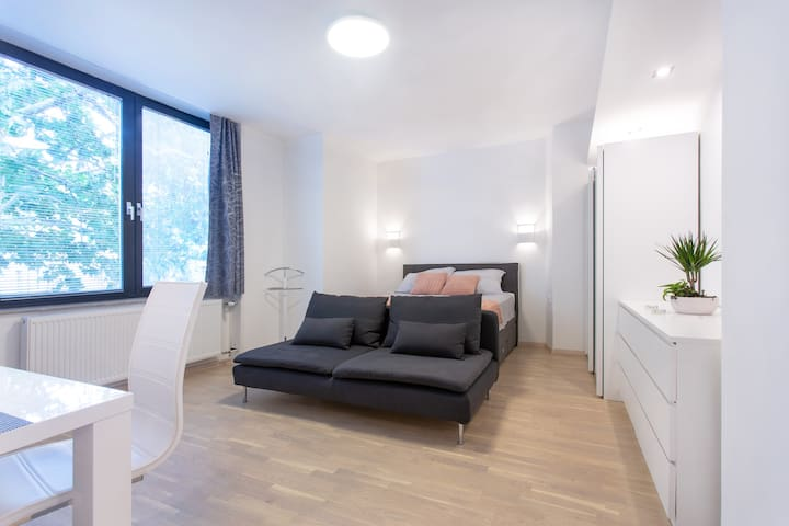 Apt 2: This well lightened loft is a space in which you can really enjoy and relax after a hard day's work or after discovering the wonders of Ljubljana&Slovenia.