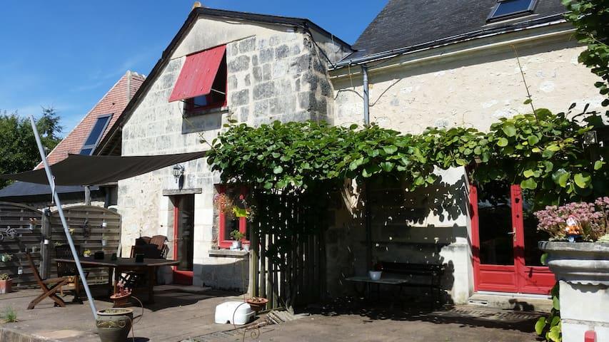 Chambre dans maison calme à la campagne - Mazières-de-Touraine - House