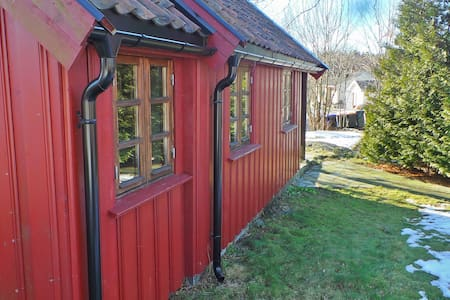 The 'River Cabin', a  cozy retreat. - Arendal - Kabin